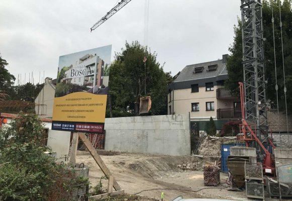 Construction d'un immeuble « VILLA BOSCA » à Strasbourg