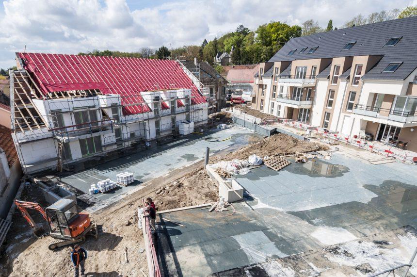 CONSTRUCTION 38 LOGEMENTS A HANGENBIETEN
