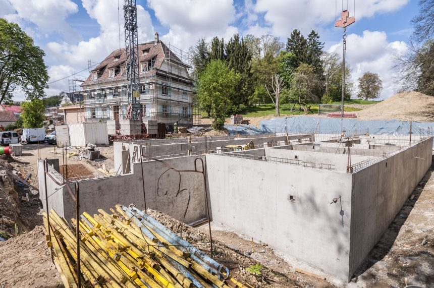 CONSTRUCTION NEUF LOGEMENTS ET DEUX MAISONS