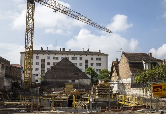 CONSTRUCTION DE DEUX IMMEUBLES D'HABITATION