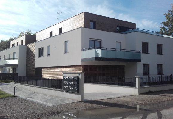 CONSTRUCTION DE 15 LOGEMENTS À STRASBOURG-GANZAU