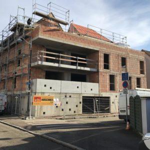 CONSTRUCTION DE LOGEMENTS COLLECTIFS 19 RUE MAURICE MULLER A BISCHHEIM